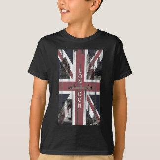 Camiseta Bandeira britânica de Union Jack do Grunge
