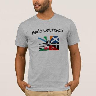 Camiseta Bandeira celta do orgulho das nações