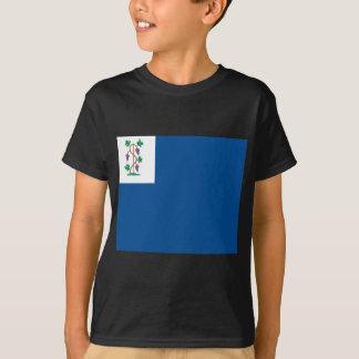 Camiseta Bandeira colonial do corsário (bandeira naval de