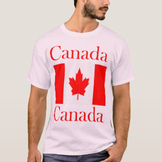 Camiseta Bandeira conhecida de Canadá