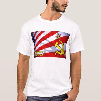 Camiseta Bandeira crepuscular do esforço