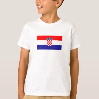 Camiseta Bandeira croata patriótica