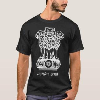 Camiseta Bandeira da brasão de India