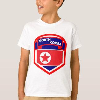 Camiseta Bandeira da Coreia do Norte