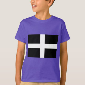 Camiseta Bandeira da Cornualha de Piran Cornish do santo -