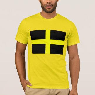 Camiseta Bandeira da cruz de David do santo de Wales