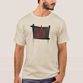 Camiseta Bandeira da escova da anarquia