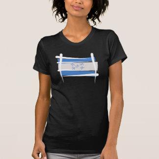 Camiseta Bandeira da escova de Honduras