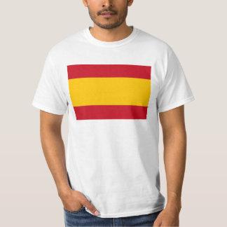 Camiseta Bandeira da espanha, Bandera de España, bandera