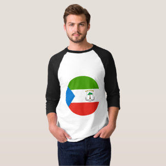 Camiseta Bandeira da Guiné Equatorial