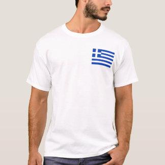 Camiseta Bandeira da piscina e t-shirt do mapa