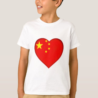 Camiseta Bandeira da República Popular China