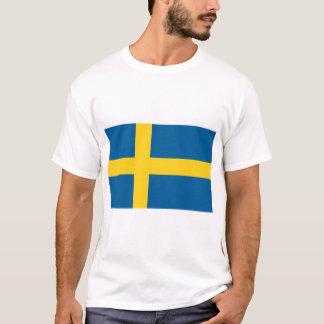 Camiseta Bandeira da suecia
