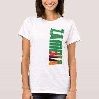 Camiseta Bandeira da Zâmbia