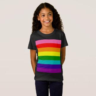 Camiseta Bandeira das listras do original 8 do orgulho gay