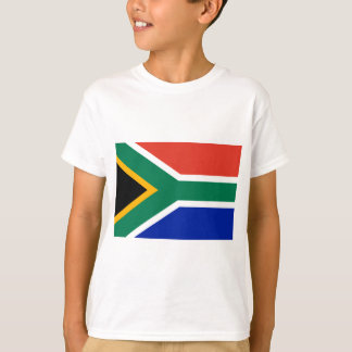 Camiseta Bandeira de África do Sul