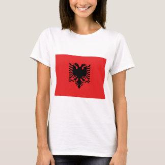 Camiseta Bandeira de Albânia