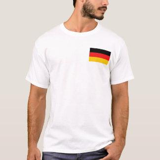 Camiseta Bandeira de Alemanha e t-shirt do mapa