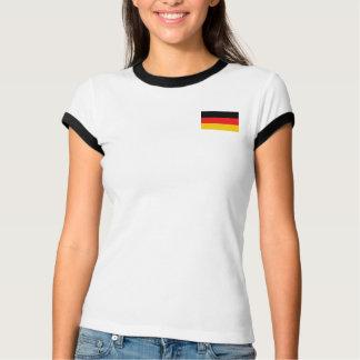 Camiseta Bandeira de Alemanha + T-shirt do mapa