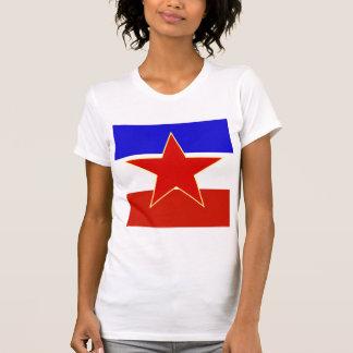 Camiseta Bandeira de alta qualidade de Jugoslávia