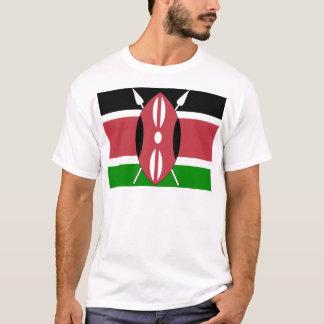 Camiseta Bandeira de alta qualidade de Kenya