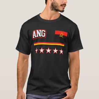Camiseta Bandeira de Angola