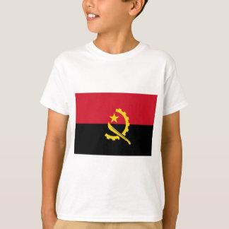 Camiseta Bandeira de Angola - Bandeira de Angola