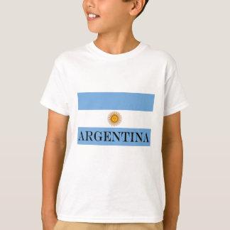 Camiseta Bandeira de Argentina