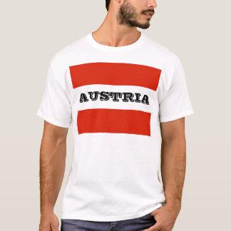 Camiseta Bandeira de Áustria