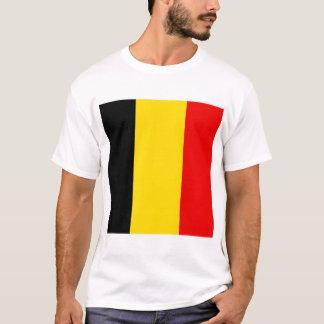Camiseta Bandeira de Bélgica