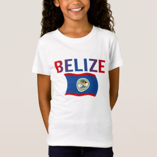 Camiseta Bandeira de Belize - Tri Cor