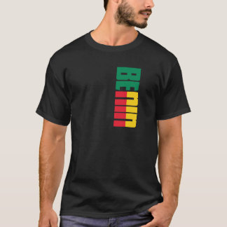 Camiseta Bandeira de Benin