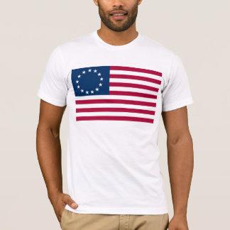 Camiseta Bandeira de Betsy Ross