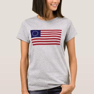 Camiseta Bandeira de Betsy Ross - 13 estrelas