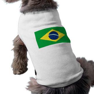 Camiseta bandeira de Brasil