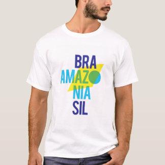 Camiseta Bandeira de Brasil Amazónia