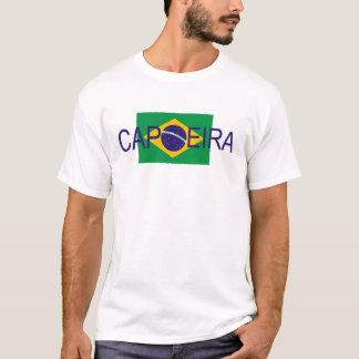 Camiseta bandeira de Brasil do capoeira