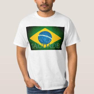 Camiseta Bandeira de Brasil Saudade