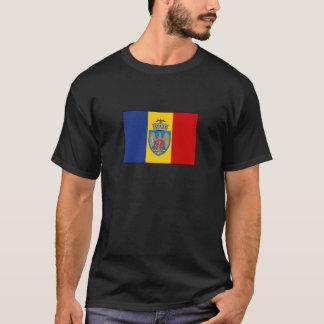 Camiseta Bandeira de Bucarest Romania
