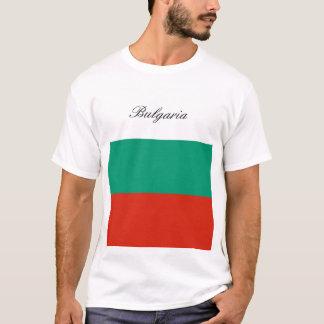 Camiseta Bandeira de Bulgária ou de búlgaro
