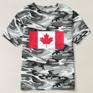 Camiseta Bandeira de Canadá - Drapeau du Canadá