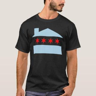 Camiseta Bandeira de casa de Chicago