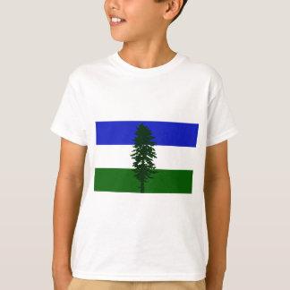 Camiseta Bandeira de Cascadia