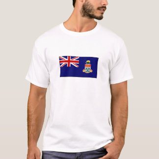 Camiseta Bandeira de Cayman Islands