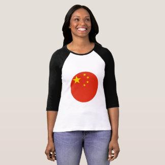 Camiseta Bandeira de China