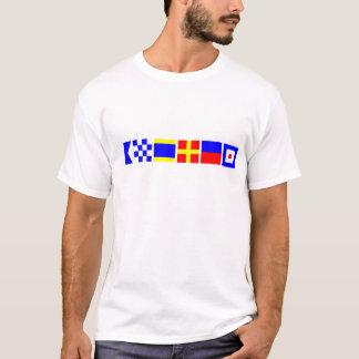 Camiseta Bandeira de código Andrew