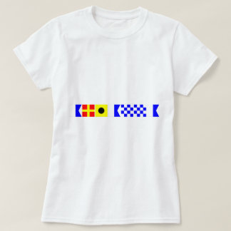 Camiseta Bandeira de código Arianna