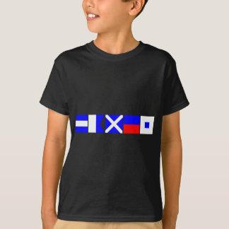 Camiseta Bandeira de código James