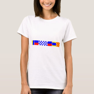 Camiseta Bandeira de código Kennedy