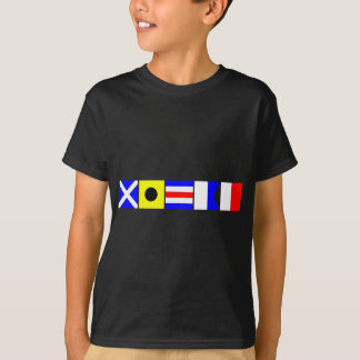 Camiseta Bandeira de código Micah